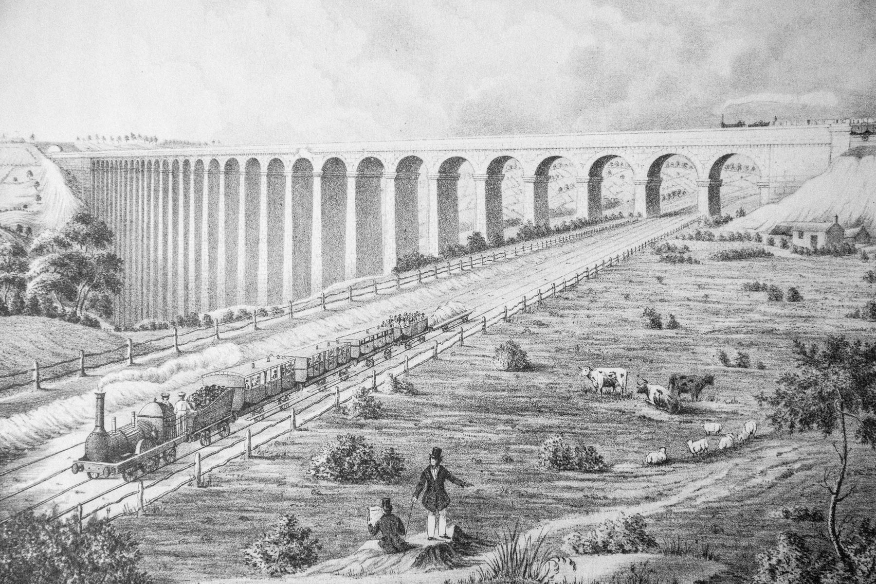 Crimple Valley Viaduct 1847